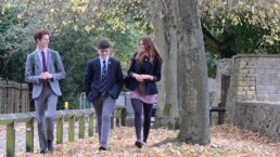 Students at Chipping Campden Sixth Form